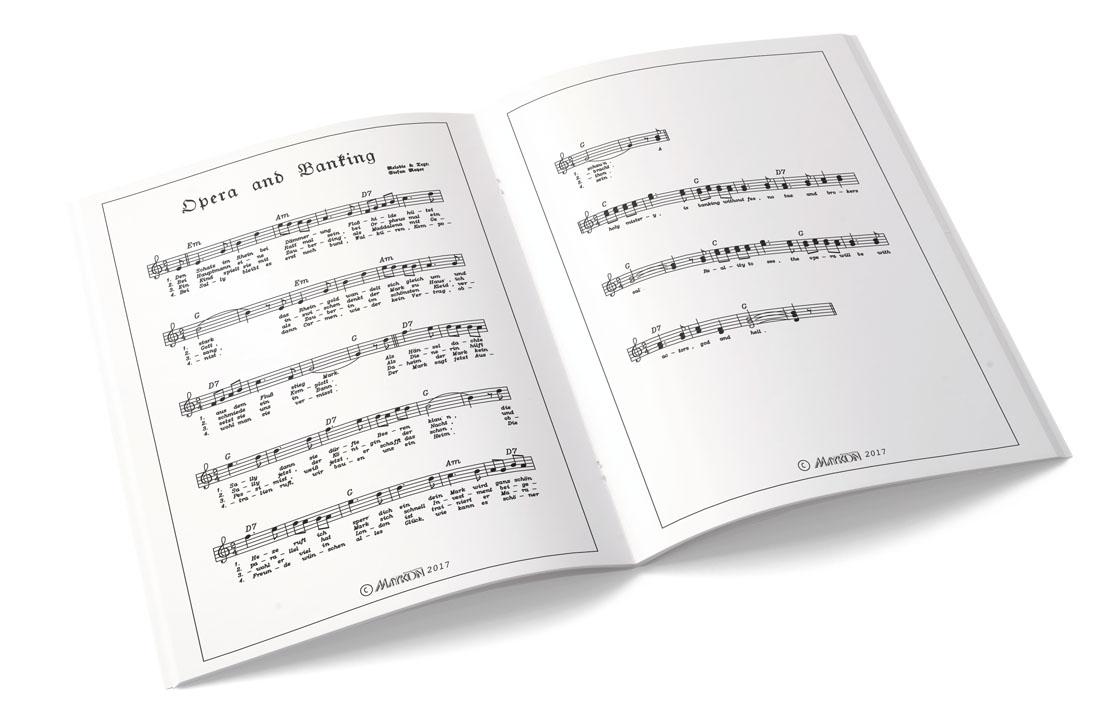 Maykon Lieder mit Noten